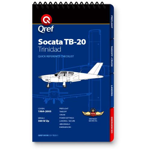 Socata TB20 Trinidad Qref Checklist