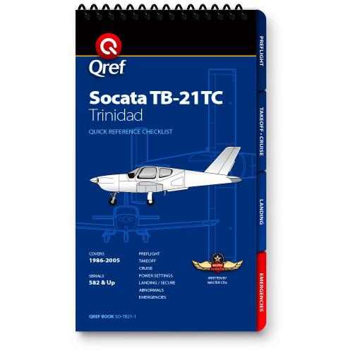 Socata TB21 Trinidad Qref Checklist