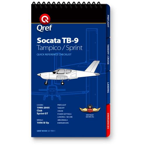 Socata TB9 Tampico Qref Checklist