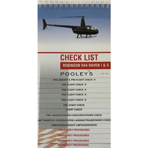 Robinson R44 Raven 1 & 2 Checklist