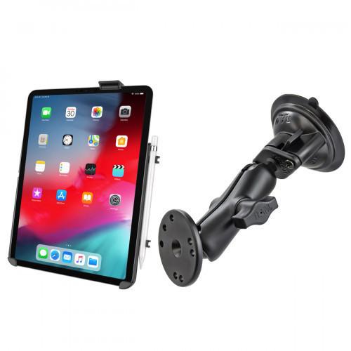 """RAM Apple iPad Pro 11"""" & Air 4 Suction Mount Kit"""