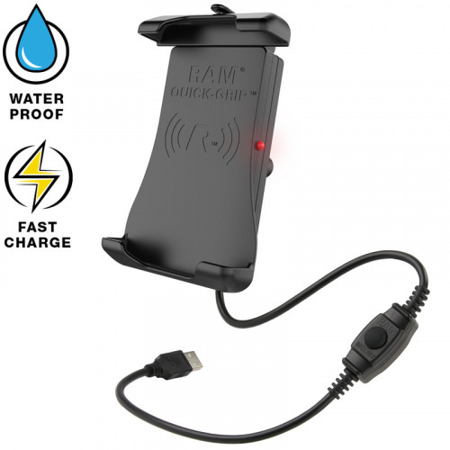 RAM Quick-Grip Waterproof Wireless Charging Holder