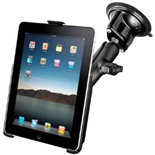 RAM iPad 2,3,4 Suction Cup Holder Bundle