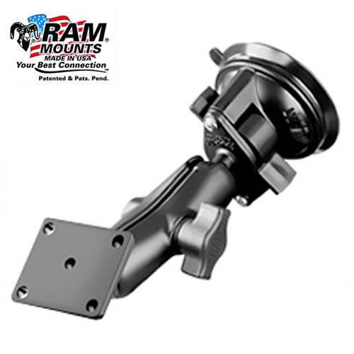 RAM Twist Lock Suction Mount For Garmin AERA and TomTom Rider 2