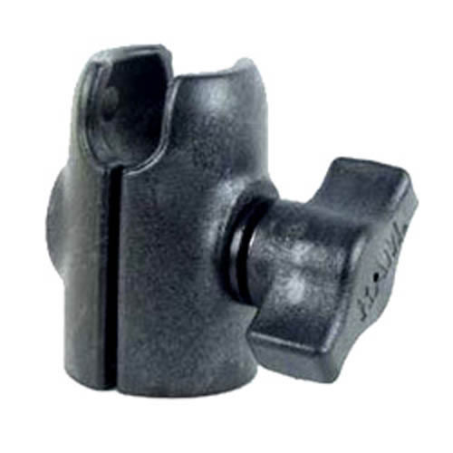 "Single 1"" Socket Arm with Octagon Base"