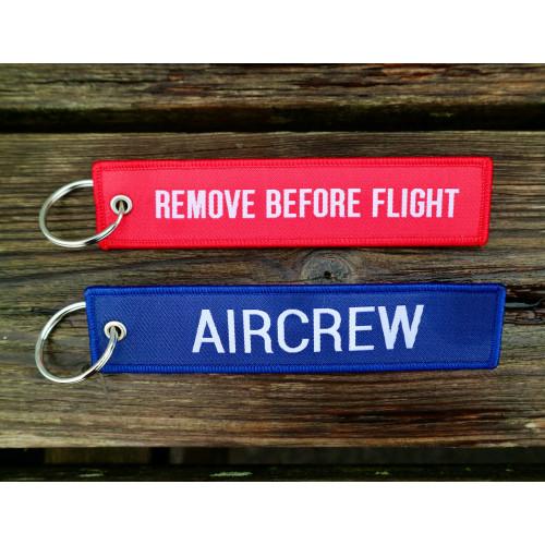 Transair Remove Before Flight Keyring