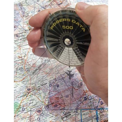 Rogers Data Plotter measuring distance.