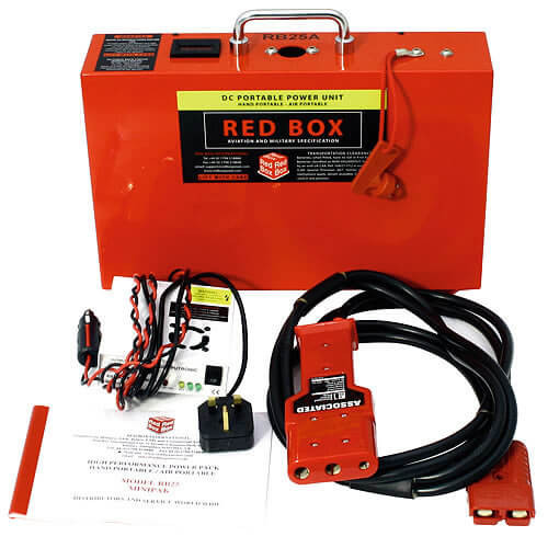 Red Box RB25A Aircraft Start Power RED 12V