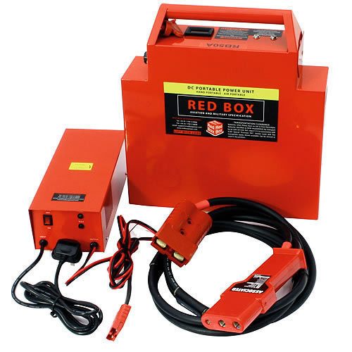 Red Box RB50A Aircraft Start Power RED 12V