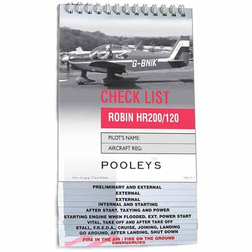 Checklist - ROBIN HR200/120