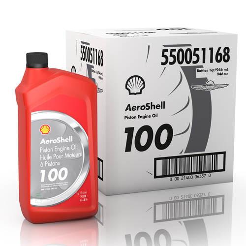 AeroShell 100 - Case of 6 US Quart Bottles