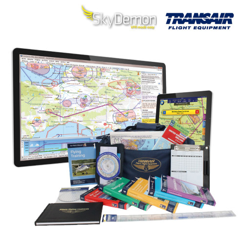 SkyDemon Transair PPL Student Study Pack Pilot iPad