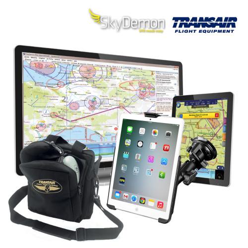 SkyDemon Transair Navigation Pack VFR Flight