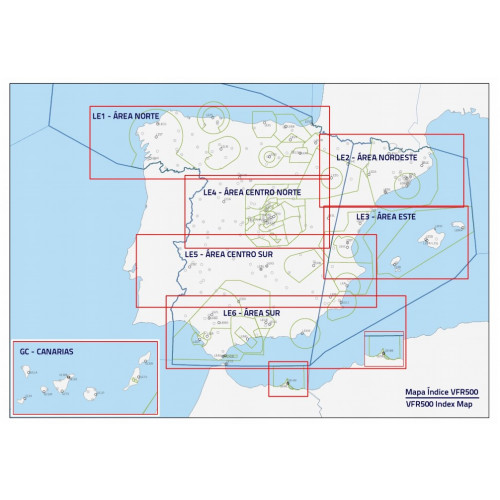Spanish VFR Chart 2020 - GC Canaries