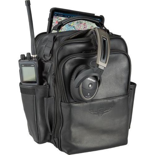 Sporty's Flight Gear Leather iPad Bag