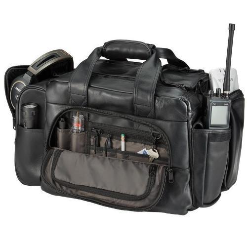 Sporty's Flight Gear Premium Leather Original Bag