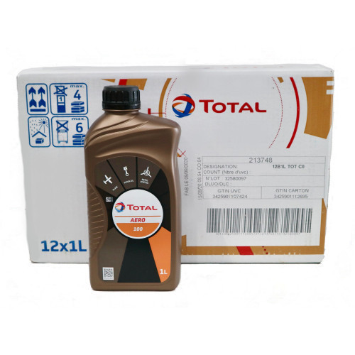 Total Aero 100 - Case of 12 Litre Bottles