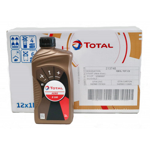 Total Aero D100 - Case of 12 Litre Bottles