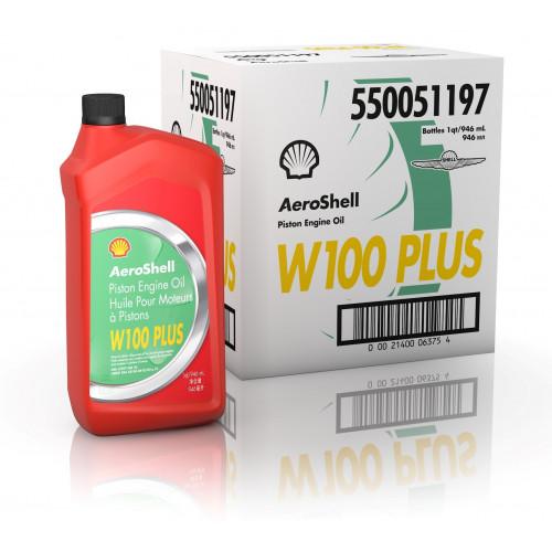 AeroShell W100 Plus - Case of 6 US Quart Bottles