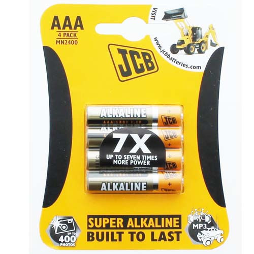 Batteries - Size AAA Four Pack