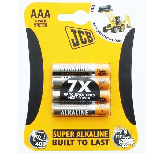 Super Alkaline Batteries - Size AAA (Four Pack)