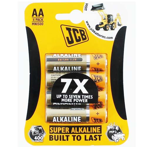 Batteries - Size AA Four Pack