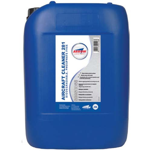 Arrow Aircraft Cleaner 281-20lt Barrel