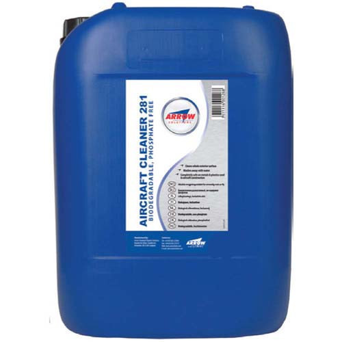 Arrow Aircraft Cleaner 281-210lt Drum