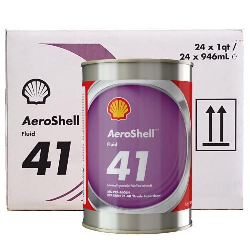 AeroShell Fluid 41 - 24 x 1 US Quart