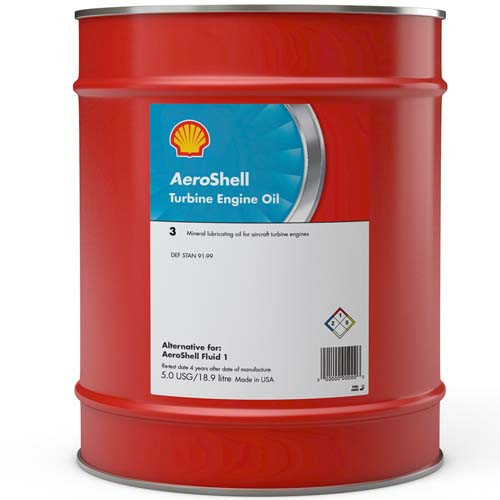 AeroShell Turbine OIL 3 - 5 US Gallons