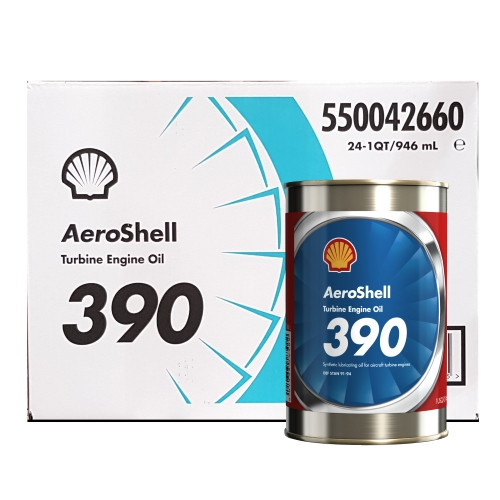 AeroShell Turbine OIL 390 - 24 x 1 US Quart