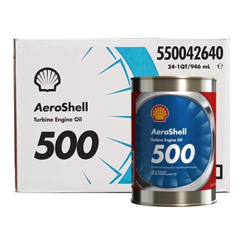 AeroShell Turbine OIL 500 - 24 x 1 US quart