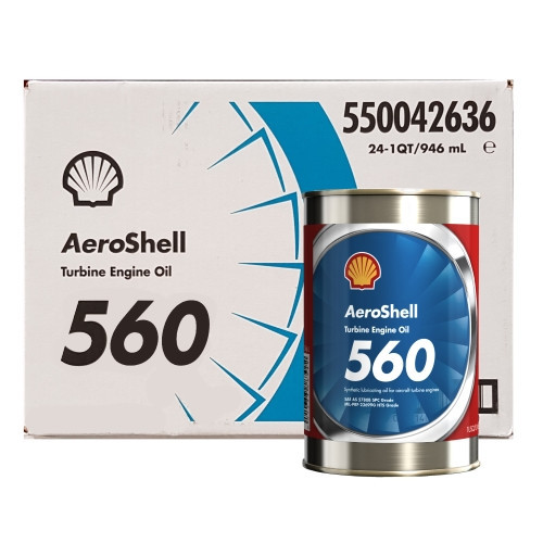 AeroShell Turbine OIL 560 - 24 x 1 US Quart