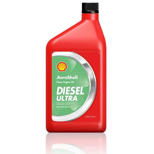 AeroShell Oil Diesel Ultra - 1 Litre Bottle