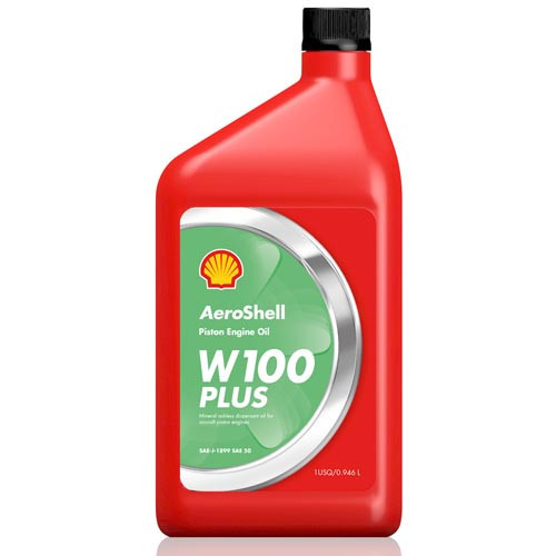 AeroShell W100 Plus - 1 US Quart Bottle