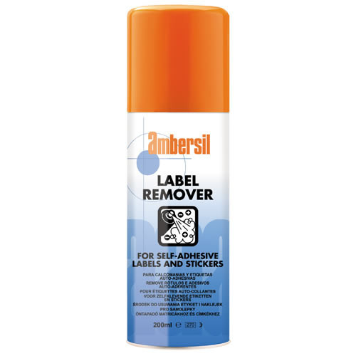 Ambersil Label Remover 200 ml (Case of 12)