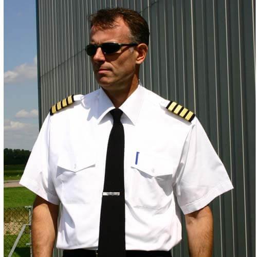 Mens Pilot Shirt White