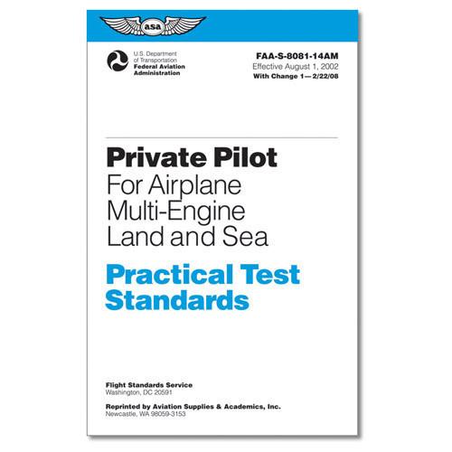 PRAC TEST STD'S Private Pilot Airplane Multi eng