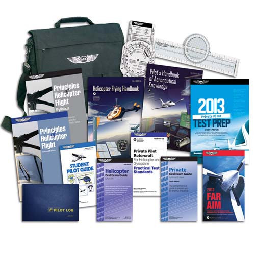 ASA FAA - Helicopter PPL Study Kit