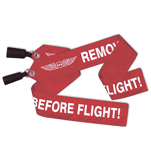 """3/4"""" Pitot Cover Remove before Flight """