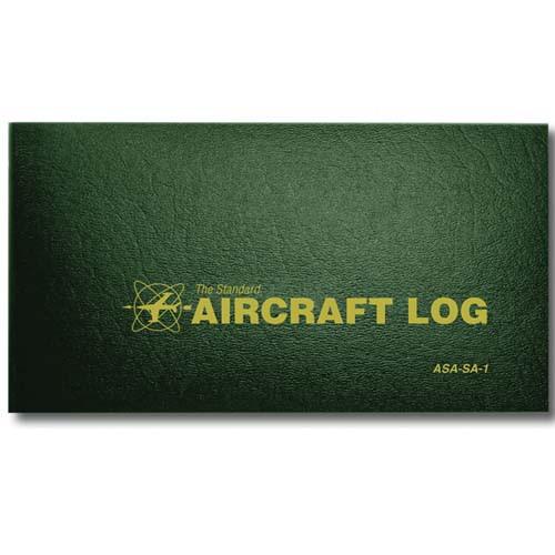 ASA Aircraft Logbook - Standard