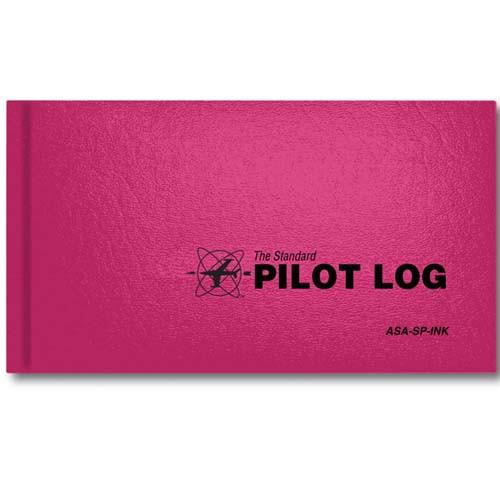 ASA Standard Pilot Log - Pink