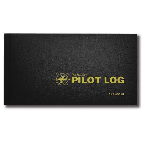 ASA Standard Pilot Logbook  - Black