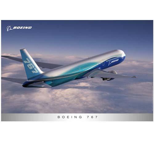 Poster - Boeing 767 / External