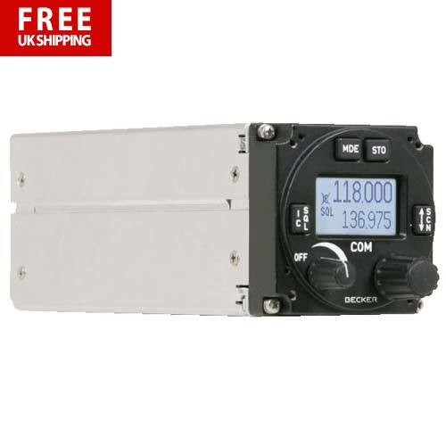 Becker AR6201 VHF Transceiver8.33 - 10W Output
