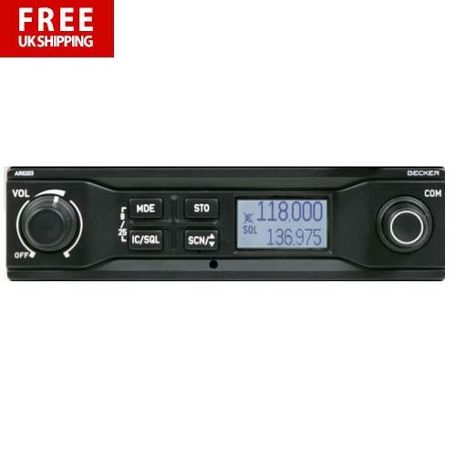 Becker AR6203 VHF Transceiver 8.33 - 6W Output