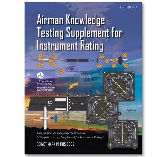 ASA Airman Knowledge Testing Supplement for Instrument Rating