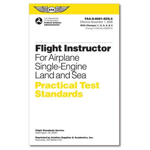 Practical Test Standards: CFI - Single-Engine