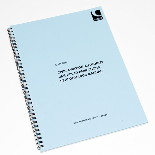 CAP 698 JAR/FCL Exam Performance