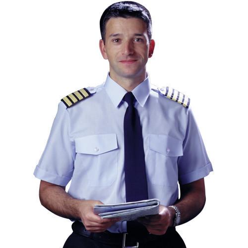 Mens Blue Pilot Shirt